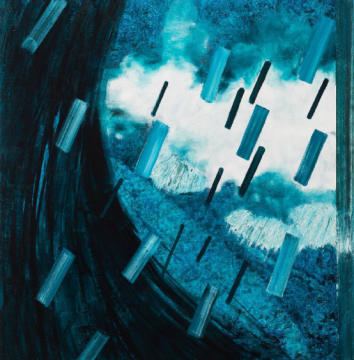 《万有引力2》 200×200cm 布面油画 2017