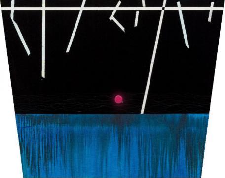《江山如此多娇》 180×130cm 布面油画 2017