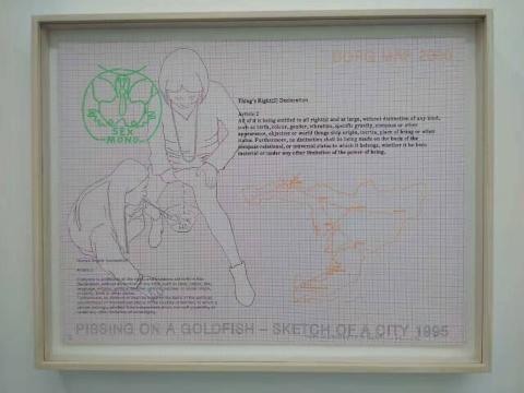 """关于""""物权""""的版画和20世纪90年代的照片"""