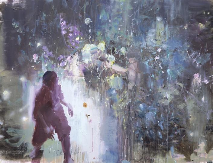 韋嘉,《小恍煌》, 2016, 丙烯畫布, 190x250cm