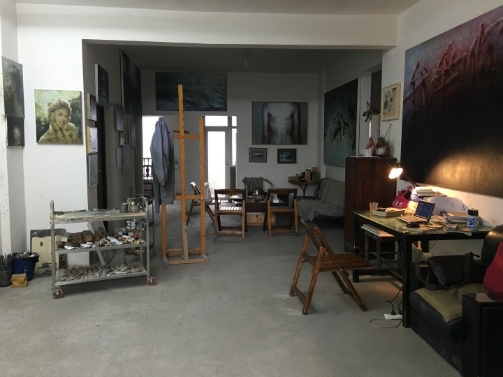 宋永兴的工作室