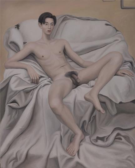 大川,200x160cm,布面油画,2017