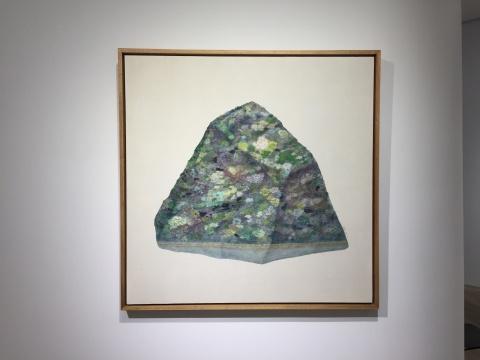 吴笛笛 《时间的落差NO.2》 布面油画 120×120cm 2017