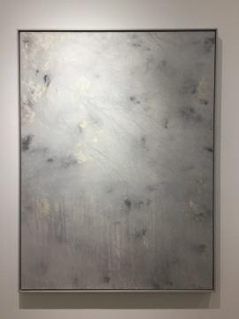 潘剑 《Z-170105》 布面油画 丙烯 金属粉末 木框 200×150cm 2016