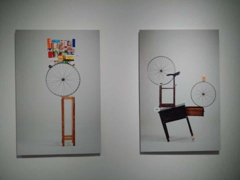刘亚洲 《作品8号》《作品11号》 80×110cm 艺术微喷 2014