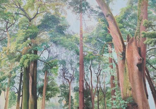 《苍翠》150x210cm 布面油画 2015
