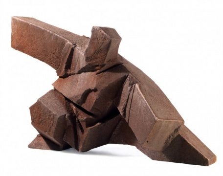 朱铭 《太极系列- 单鞭下势》 182.9×98×124 cm 铁雕 雕塑 1999  成交价:666万港元(估价:450万-550万港元)