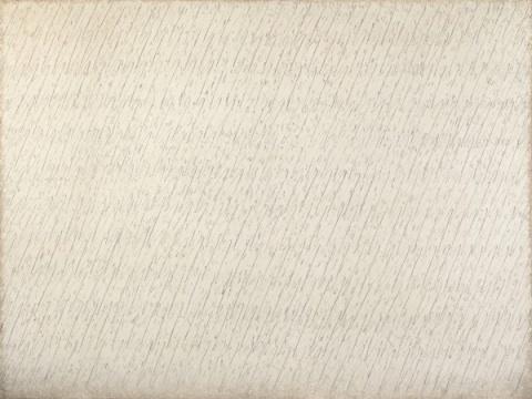 朴栖甫 《描法NO.10-79-83》194×258.5cm 铅笔 油彩 麻布 1979  成交价:1026万港元,刷新艺术家个人拍卖纪录(估价:700万-1000万港元)