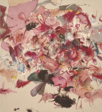 肖恩·斯库利 《光之墙-淡绿色》 150.4×140.3cm 油画麻布 2013成交价:1088万港元,刷新艺术家亚洲拍卖纪录(估价:320万-550万港元)在国博举行过展览的费尔南多·博特罗的《终曲》以584万港元成交,为TOP 4拍品;克里斯汀·艾珠 《小苍蝇及其他翅膀》 165.3×150.5cm 油画画布 2013  成交价:1172万港元,刷新艺术家个人拍卖纪录(估价:90万-120万港元)    当晚的TOP 5均由国际艺术大师创下,值得一提的是,这些取得不俗成绩的国际艺术家都曾在中国举办过展览——TOP 1的奈良美智曾在中国香港举办过个人展览;TOP 2的克里斯汀·艾珠曾在中国台湾的谷公馆举办过个人展览;TOP 3的肖恩·斯库利刚在中央美术学院美术馆、上海喜马拉雅美术馆、南京艺术学院美术馆、广东美术馆举办过个人作品巡展,他的《光之墙-淡绿色》以1088万港元成交,打破艺术家的亚洲拍卖纪录;