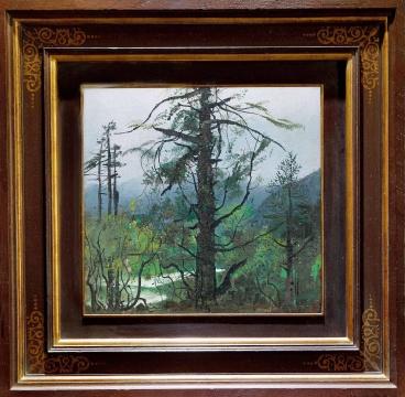 吴冠中 《雨后流泉》 45×47cm 布面油画  估价:1000万-1500万元      林松:准确的油画排笔和颜色,营造了雨后的雾气蒸腾、空气清新。能看出吴冠中一直以来追求的写意精神。构图之大胆,只有大师可为。    伍劲:虽然是一件很小的作品,画的是云南的风景。可能和我们小时候受的教育有关,从小在教科书上看到他的作品就受到感染,我们这代人很多都深受他艺术魅力的影响。      推荐作品十一:吴大羽《绿韵》——充分体现了吴大羽核心的艺术观点