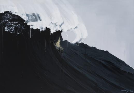 《安静的诗No.2》 190×270cm 布面油画 2015