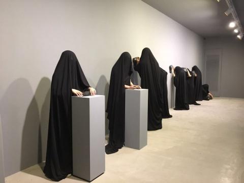 """竹林七加二 双飞艺术中心在德萨画廊"""""""