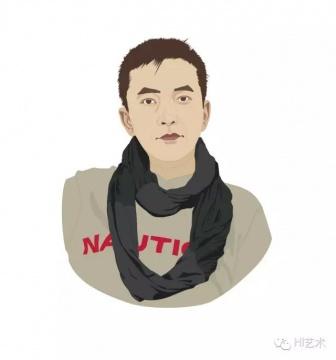 王新友(资深艺术品经纪人)      推荐作品六:章剑《两个人》——颜色漂亮而不矫揉造作