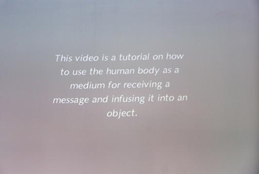 郭熙 《存放信仰的身体(录像)》 录像装置 2014