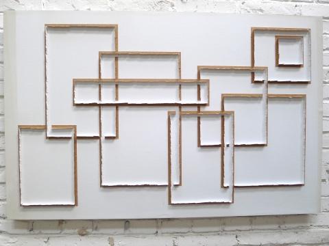 王光旭 《无题5》 110×79cm牛皮纸2012