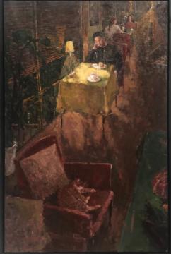 王以恒 《等等》 170×110cm 布面油画 2017