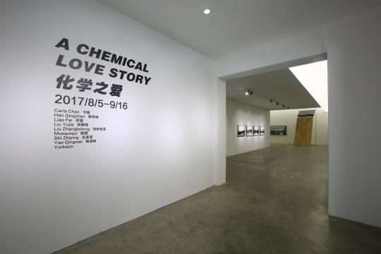"""当代唐人艺术中心第一空间群展""""化学之爱"""""""