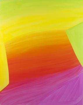 史蒂芬妮·麦克马洪 《喷流》150 x 120 cm 木板油画 2015