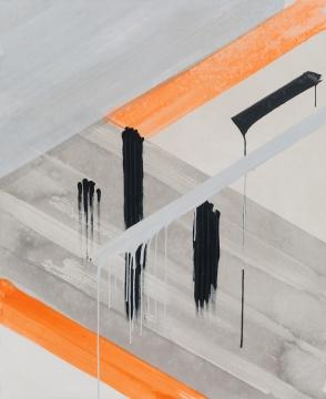 《无题》 145x117cm 布面丙烯 2017
