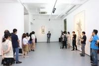 """玉衡新空间首展""""生砂润翠"""" 当代艺术与黄宾虹跨越半个世纪的对话"""