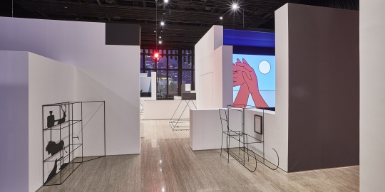 """""""伊夫·内茨哈默:再造认知""""在上海复星艺术中心"""
