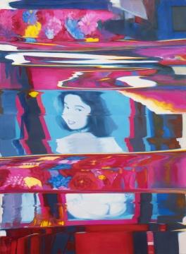 陶显 《歌舞伎町》 147.32 x 101.6cm 布面油画 2016