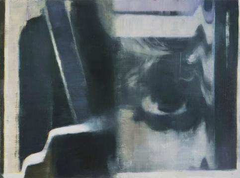 陶显 《否 #4》 60.96 x 81.28cm布面油画 2015