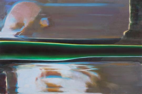 陶显 《镜像虚构 #1》 101.6 x 152.4cm 布面油画 2016