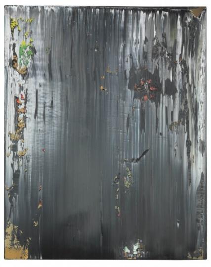 格哈德‧里希特 《抽象画作 (编号687-2)》 125.4×100cm 油彩 画布 1989  成交价:3302万港元 2017佳士得香港春拍