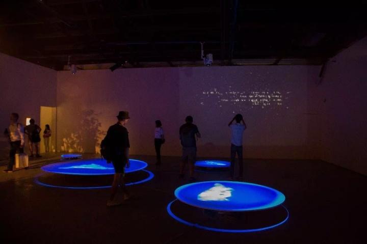 """新时线媒体艺术中心""""特瑞可·哈波亚:闭合回路,开放过程"""" 展览现场"""