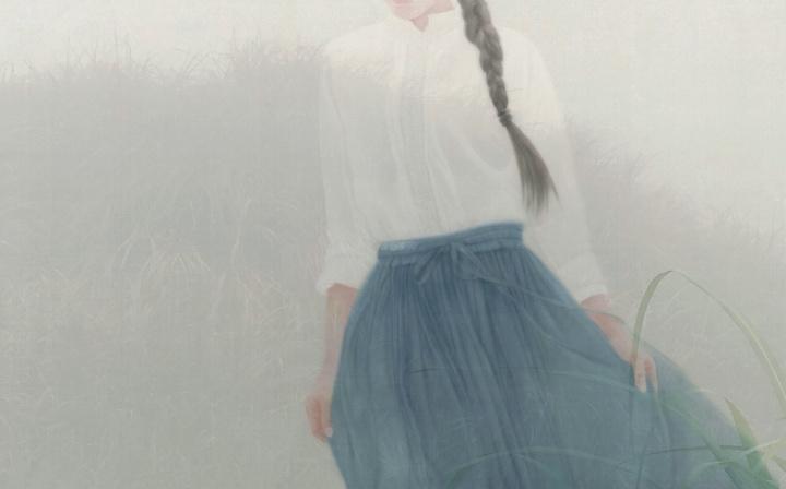 徐华翎《不如归去》100×160cm 镜心 设色绢本  成交价:172.5万元中国嘉德2015春拍