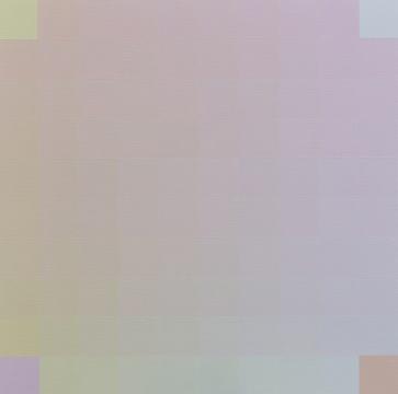 《100 201703-B》100×100cm布面丙烯 2017