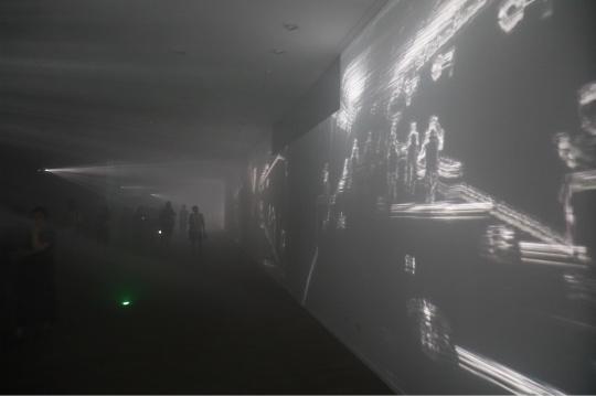 """""""生声不息:塞莱斯特·布谢-穆日诺""""《雾-细节》现场定制装置 混合媒介 2017"""