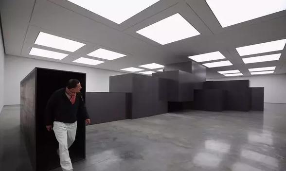 """白立方画廊""""MODEL"""", 2012(版权Antony Gormley官网)"""