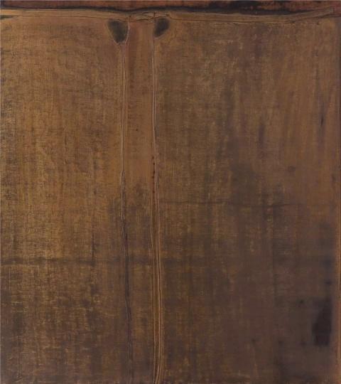 沈克龙 《素·敦煌》 180×160cm 木头、大漆 2017  RMB:50万元