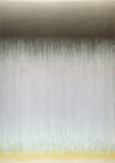 沈忱 《无题-作品NO.11007-08》 172.5×122cm 2008  RMB:23万元