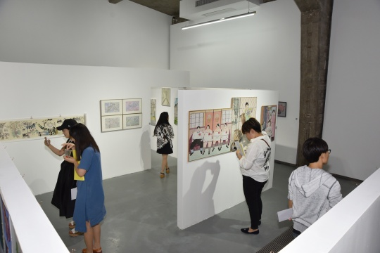 第三届素人艺术节开幕现场