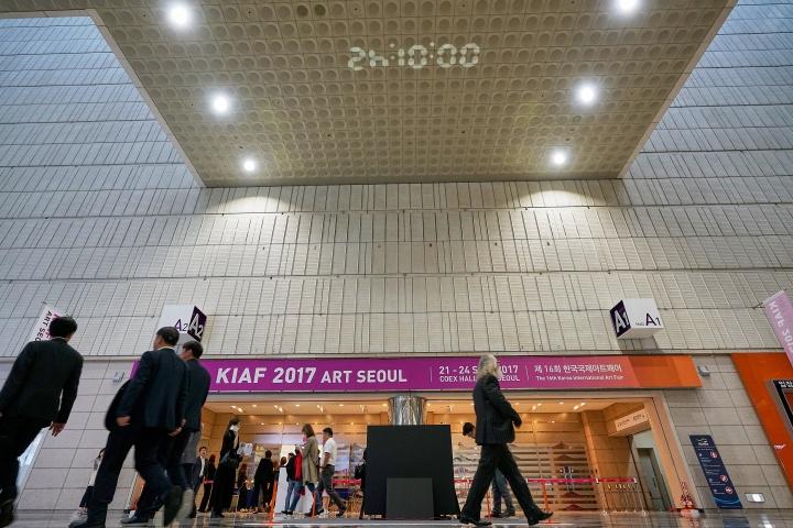9月21日,第16届KIAF ART SEOUL于COEX开幕