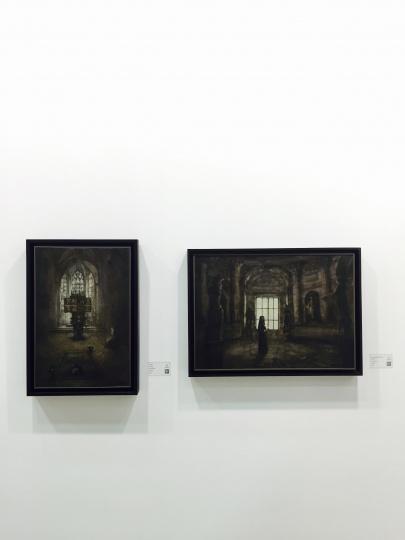 艺·凯旋画廊带来的青年艺术家李揆哲