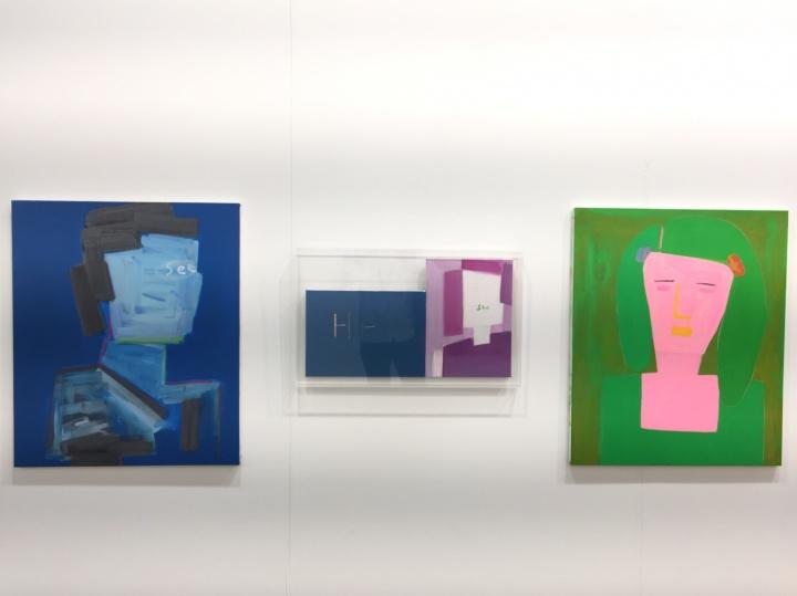 Gallery Bundo展出的艺术家Myungmi Lee作品