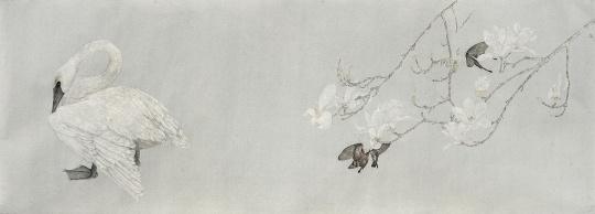 《玉境台》 45×130cm 纸本设色 2015