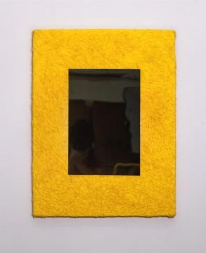 《反制》 60×80cm 纸张、金属 2017
