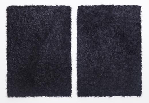 《无题》54×78cm 纸张 2017