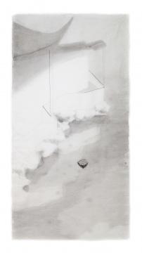 沈勤 《园》 138×68cm 纸本水墨 2015