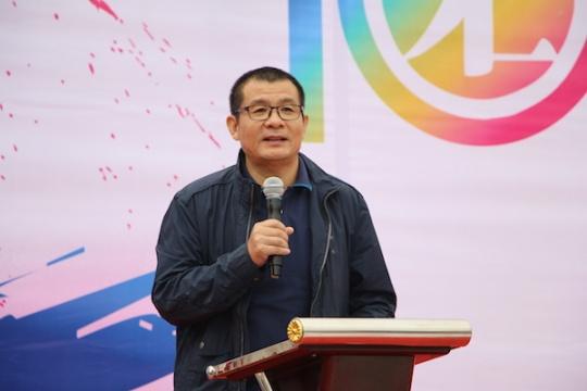 美术批评家、著名策展人、本届文化艺术节主题展展览总监吴鸿致辞