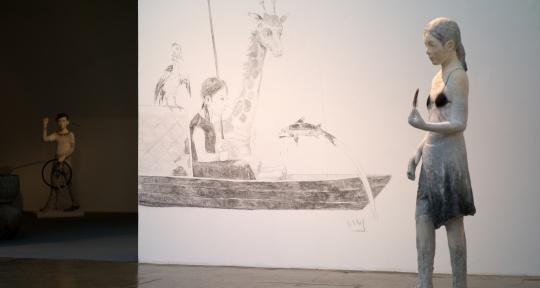 曾健勇最新个展索卡艺术中心开幕,上演一场水墨的空间戏法