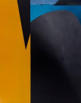 温一沛 《一处地景-No.3》 200×156cm 木板丙烯 2017
