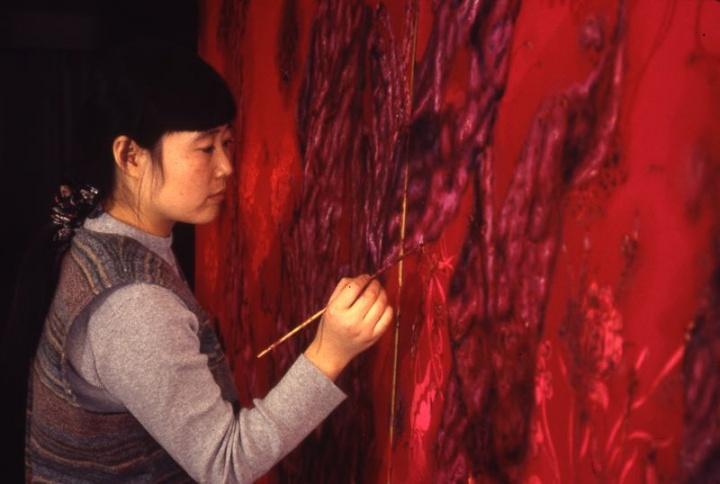 1997年,蔡锦在纽约画室