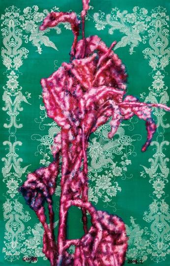 《美人蕉308》 170×130cm 布面油画 2008