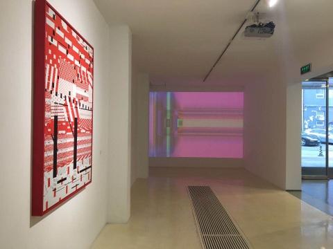 """蜂巢当代艺术中心D、E厅推出马晟哲个展""""1024"""""""